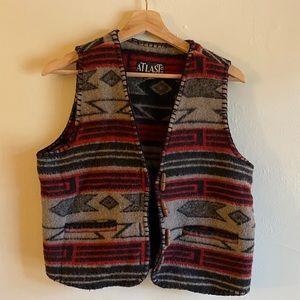 At Last & Co. Vintage Tribal Vest, M